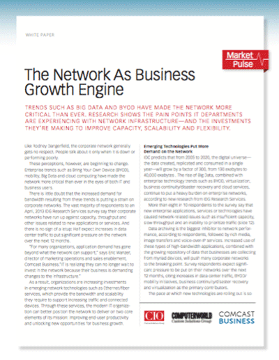 The Network As Business Growth Engine
