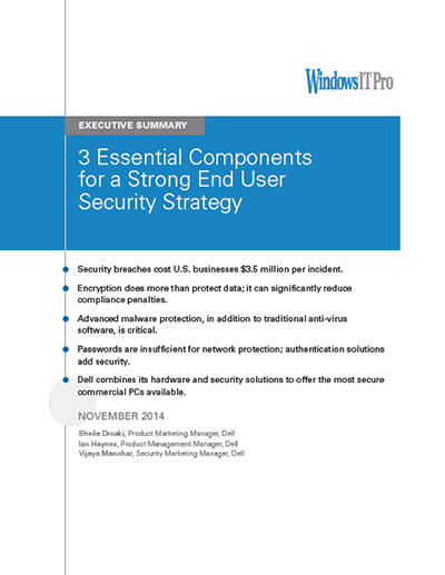 3 Essential Components for a Strong End User Security Experience